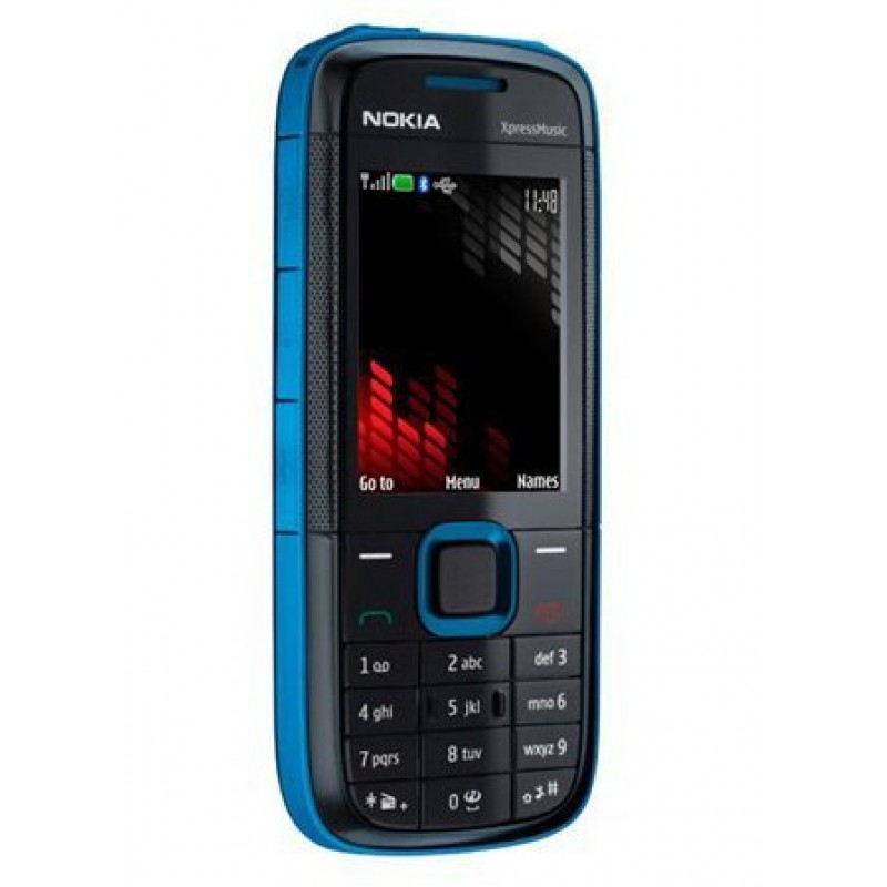 Nokia 5130 XpressMusic Good Condition Mobile 6 Months Indiantype Warranty-Refurbished