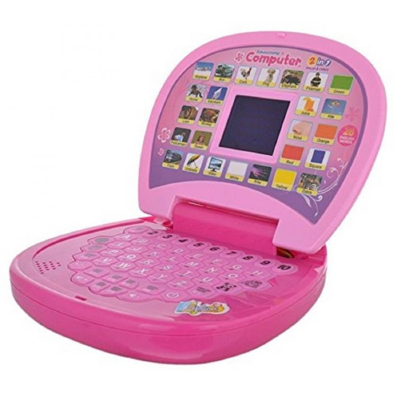 ABC And 123 Learning Kids Laptop With LED Display ...