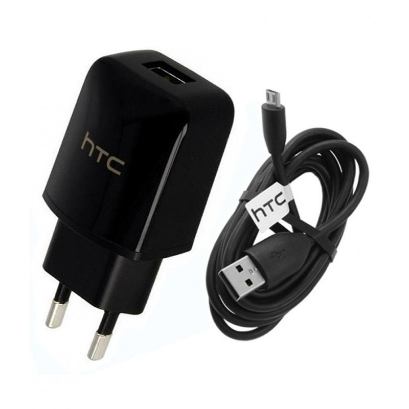 HTC Mobile Charger With Charging Cable