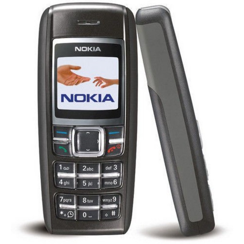 Nokia 1600 Good Condition 6 Months Indiantype Warranty-Refurbished