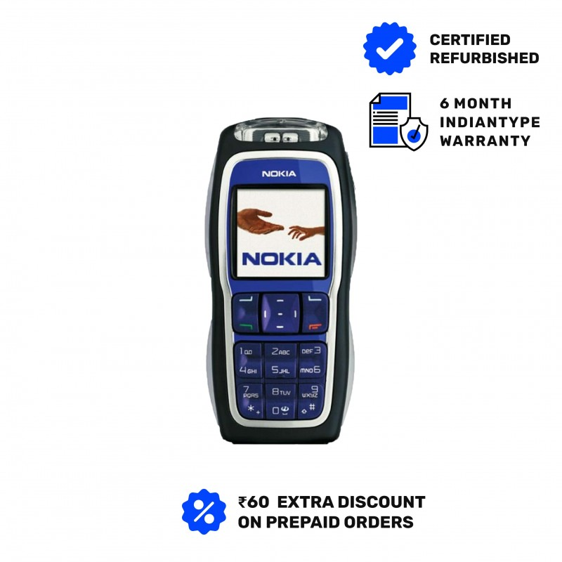 Nokia 3220 Good Condition 6 Months Indiantype Warranty-Refurbished