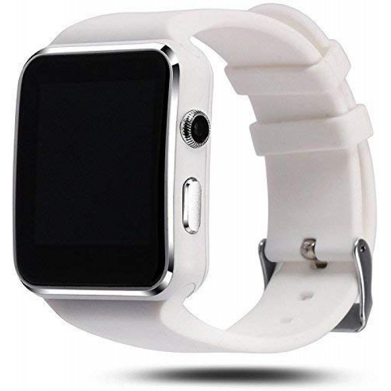 HATHOT X6 Unisex Smartwatch With SIM- Support/16 G...