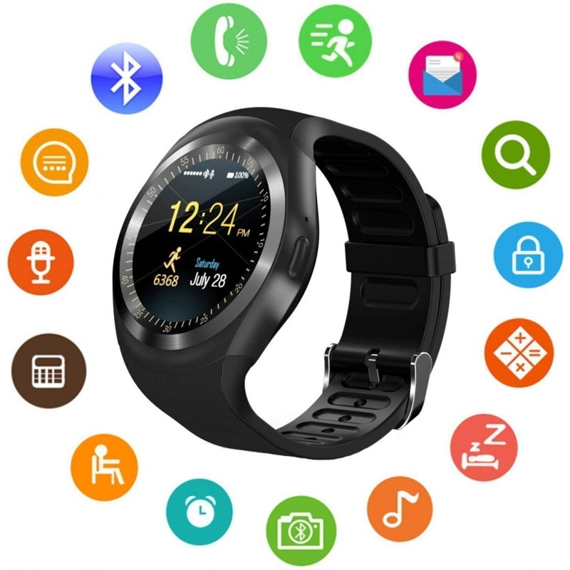 HATHOT Y3 GSM BLUETOOTH SMART WATCHPHONE (MULTICOL...
