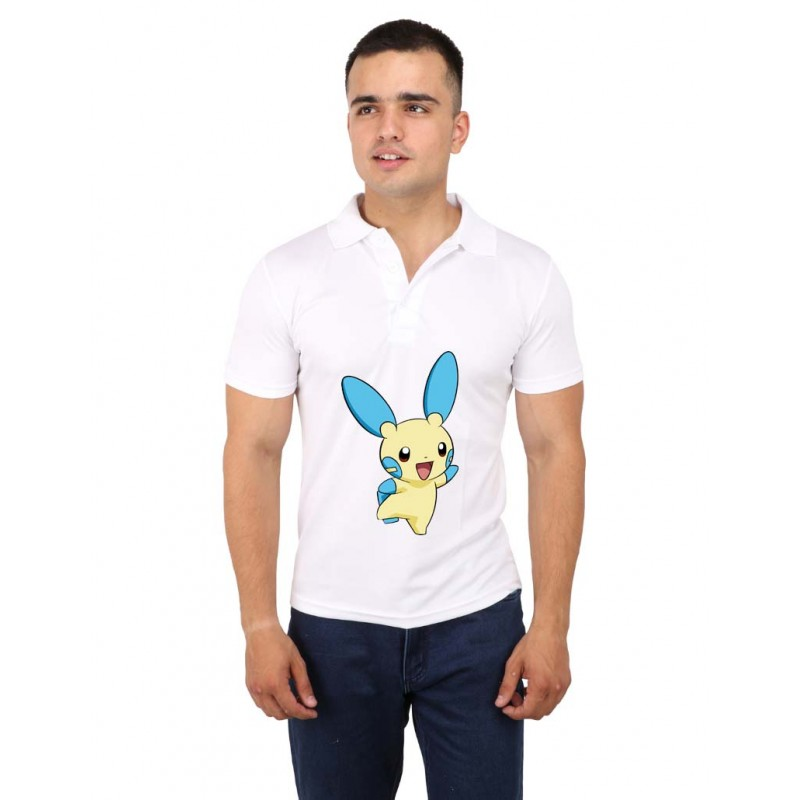 Animation Pokemon Polo T-Shirt For Men