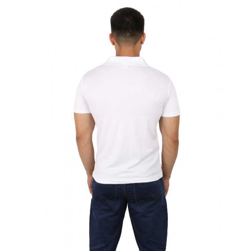 Apna Time Aayega Polo T-Shirt For Men ( White)