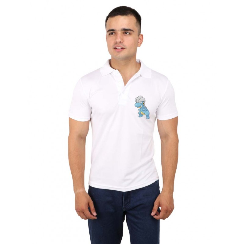 Bagon Pokemon Polo Logo T-Shirt For Men