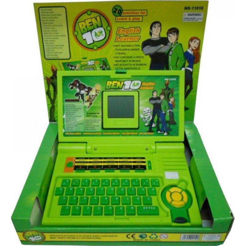 NEW Ben 10 English Learner Laptop For Kids