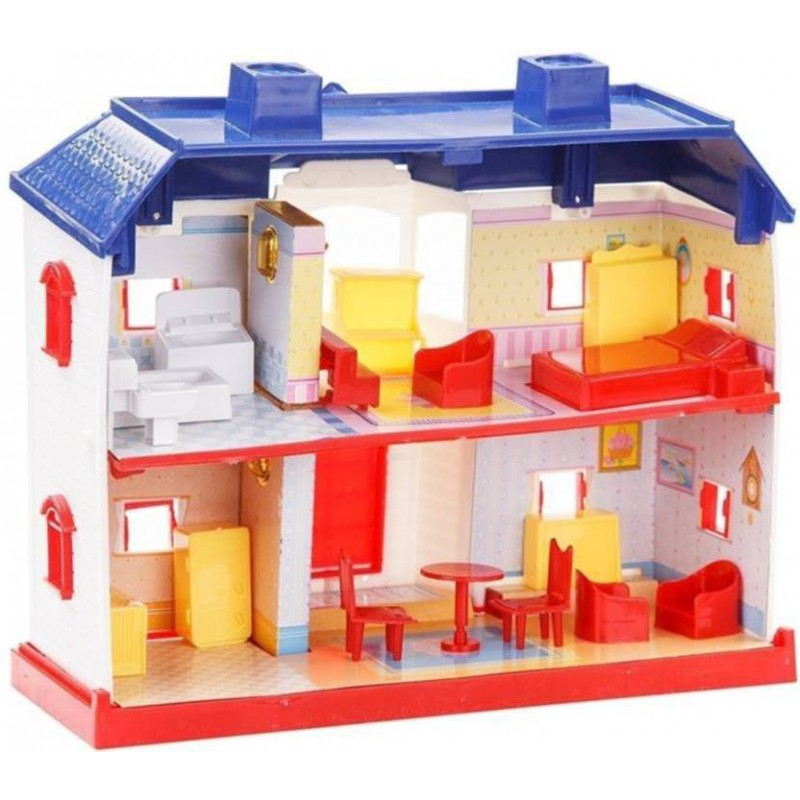 24 Pieces Beautiful Doll House Play Set For Kids