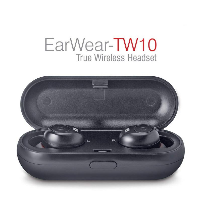 iBall Earwear TW10 Bluetooth Headset with Mic  (Bl...