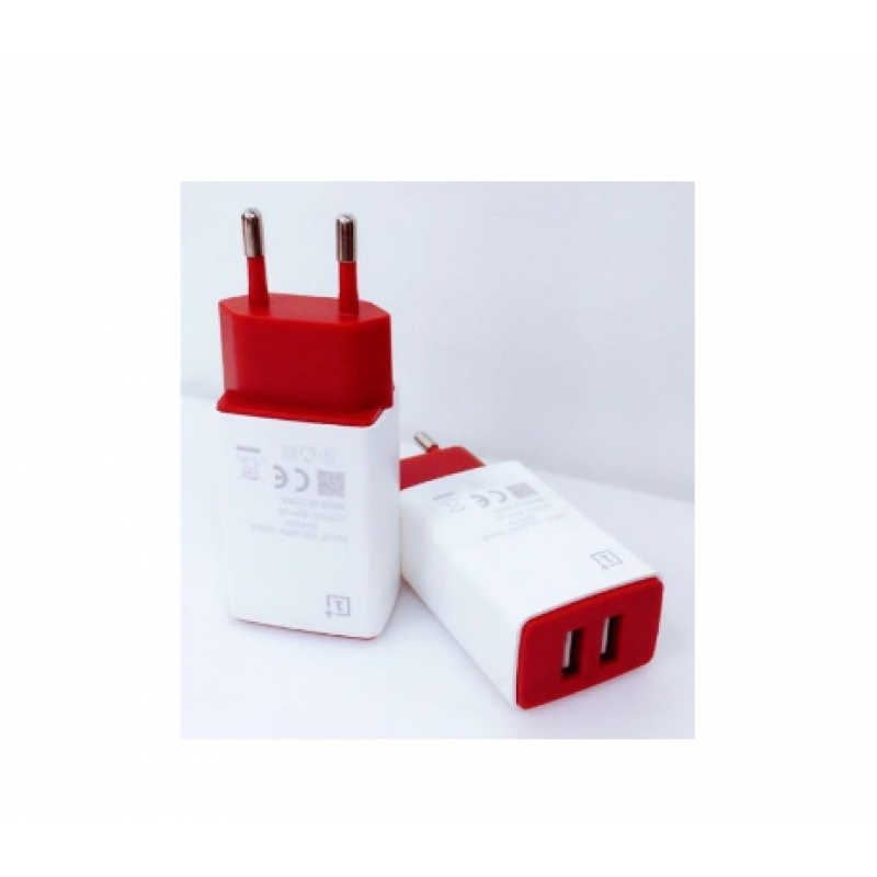 OnePlus One Dual Port Charger With Charging Cable
