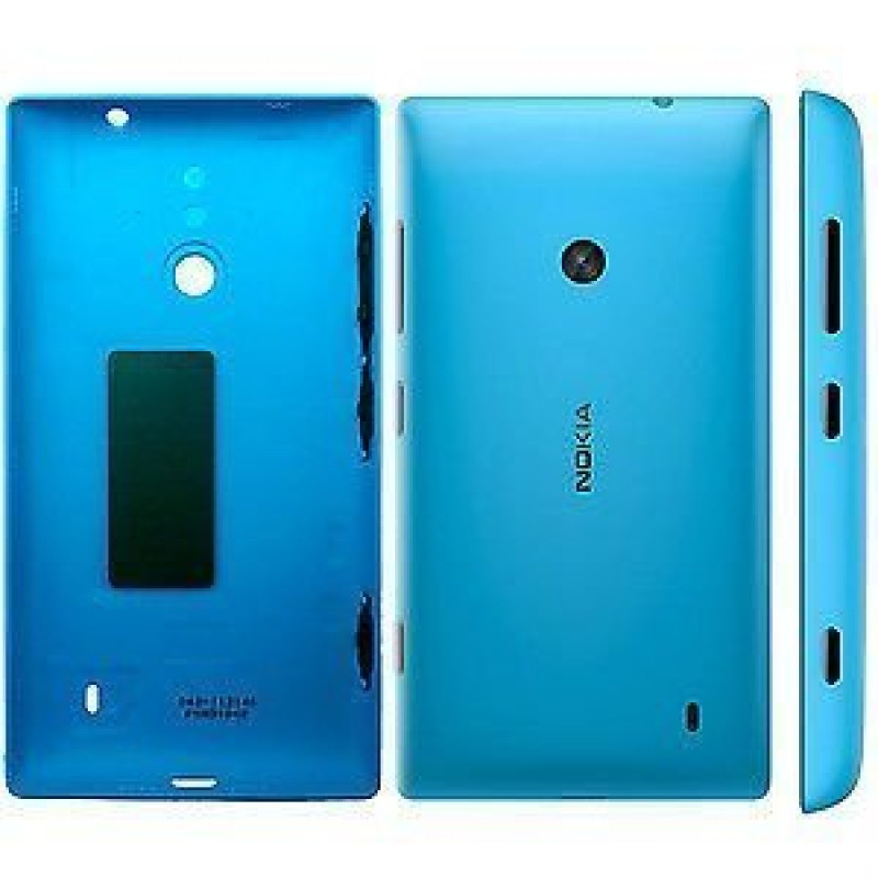 NOKIA LUMIA 520 BATTERY BACK PANEL COVER (BLUE)