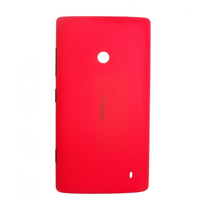 NOKIA LUMIA 520 BATTERY BACK PANEL COVER (RED)