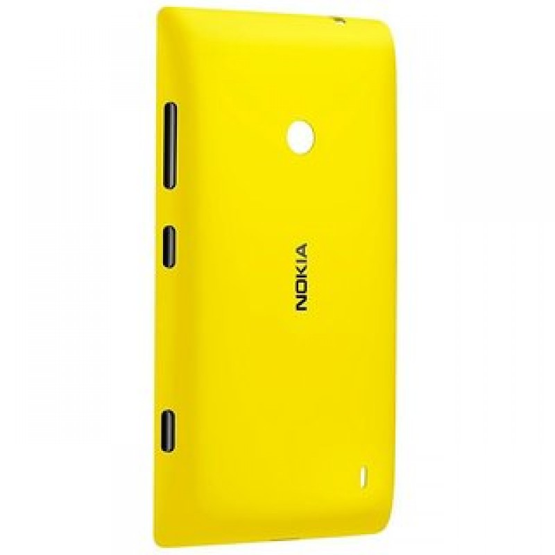 NOKIA LUMIA 520 BATTERY BACK PANEL COVER (YELLOW)