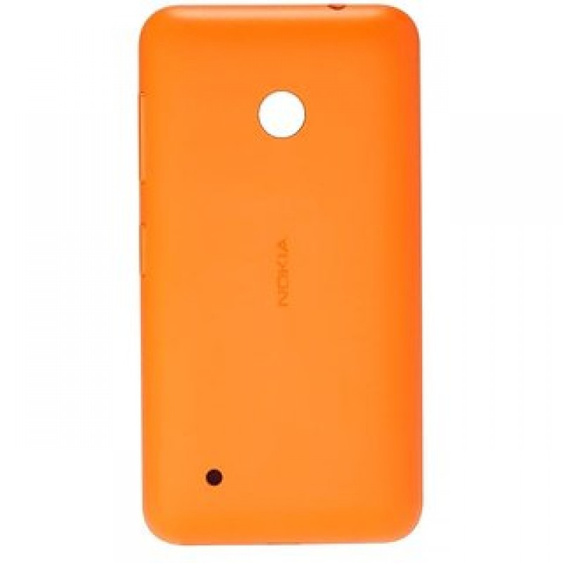 NOKIA LUMIA 530 BATTERY BACK PANEL COVER (ORANGE)