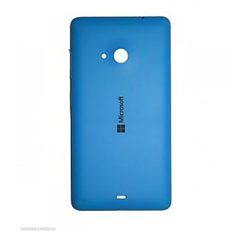NOKIA LUMIA 535 BATTERY BACK PANEL COVER (BLUE)