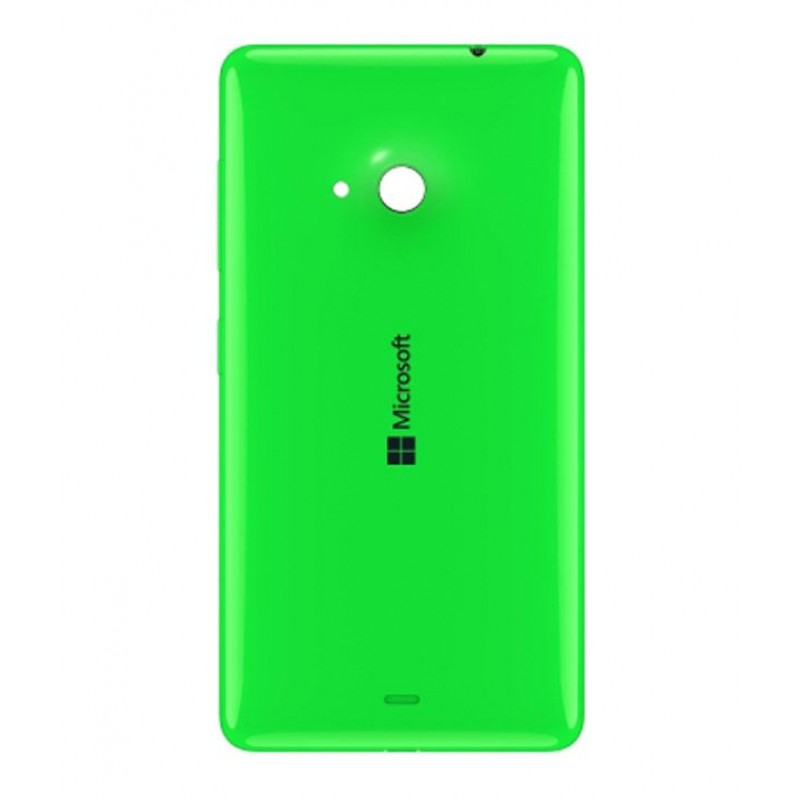 NOKIA LUMIA 535 BATTERY BACK PANEL COVER (GREEN)