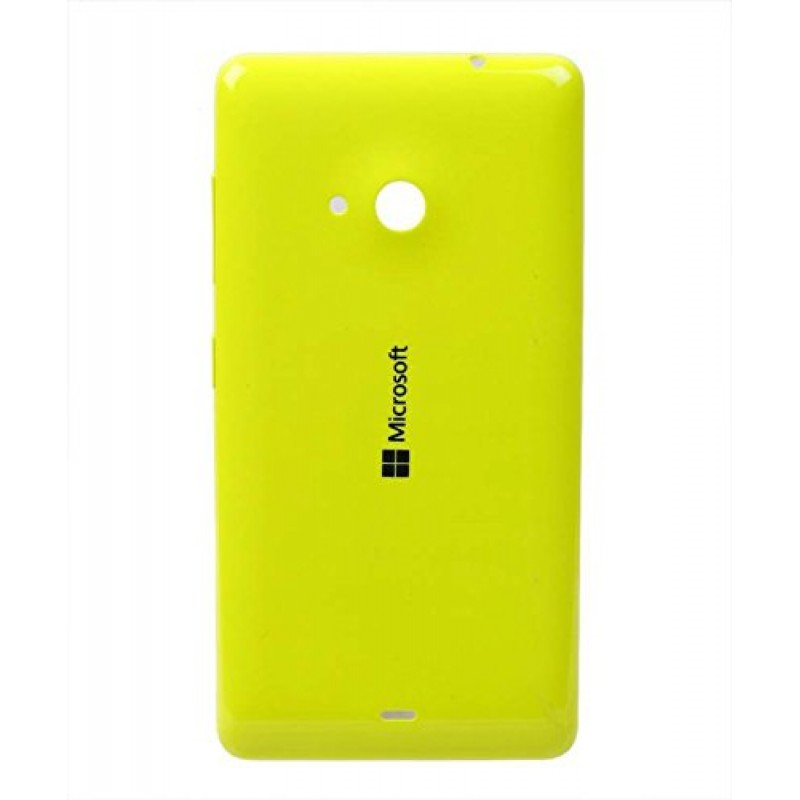 NOKIA LUMIA 535 BATTERY BACK PANEL COVER (YELLOW)
