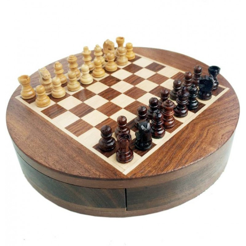 Travel Chess Board Game