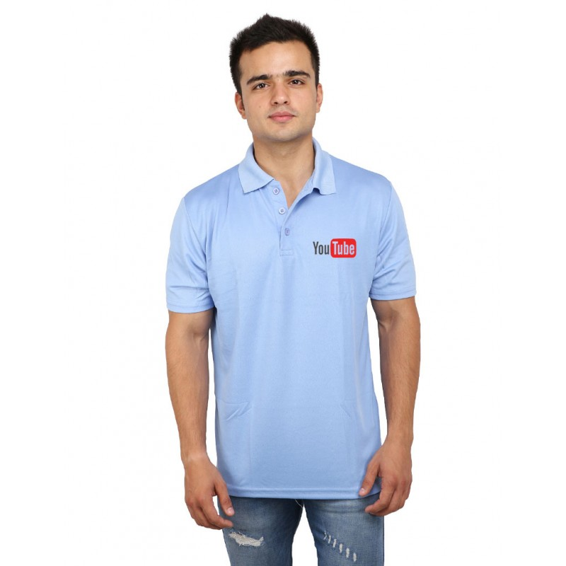 YouTube Polo T-Shirt For Men