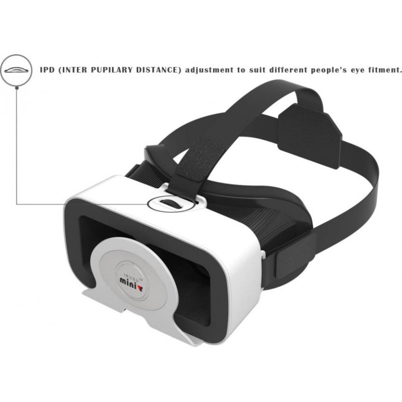 Minivr VR Headset With Remote And 42mm HD Lenses  (Smart Glasses)